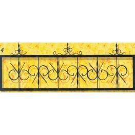 Ограда № 04